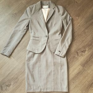 H&M lined Skirt Suit